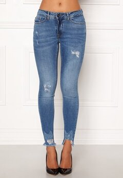 ICHI Lulu Genio Mid Blue Jeans Authentic Mid Blu Bubbleroom.eu
