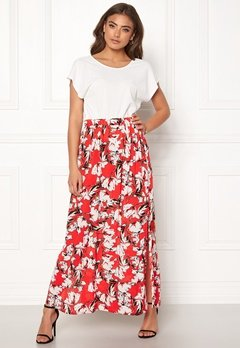 ICHI Marrakech Skirt 16019 Poinciana Bubbleroom.eu