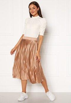 ICHI Pleat Skirt Natural Bubbleroom.eu
