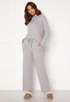 ICHI Yose Trousers Grey Melange Bubbleroom.eu