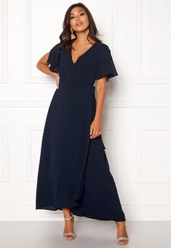ICHI Zarun Dress 14044 Total Eclipse Bubbleroom.eu