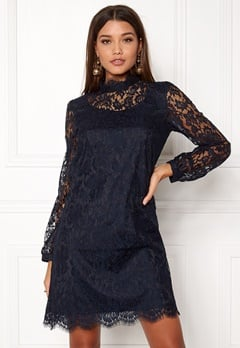 Ida Sjöstedt Hannah Dress Navy Bubbleroom.eu