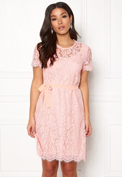 Ida Sjöstedt Helena Dress Soft Pink Bubbleroom.eu