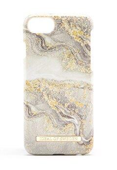 iDeal Of Sweden Fashion Case iPhone Sparkle Greige Marbl Bubbleroom.eu
