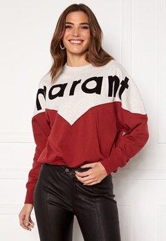 Isabel Marant Houston Sweater 80GR Grenat Bubbleroom.eu