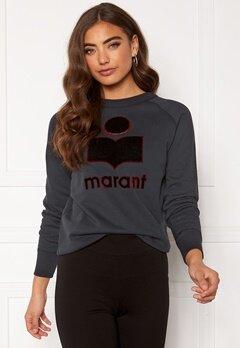 Isabel Marant Milly Sweater Faded Black Bubbleroom.eu