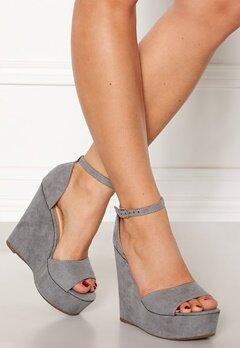 Krush Iso High Heel Sandals Grey Bubbleroom.eu