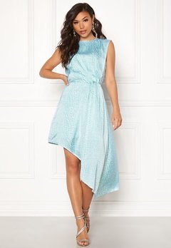 Ivyrevel Asymmetric Dress Light Blue Croco Bubbleroom.eu