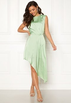 Ivyrevel Asymmetric Dress Pastel Green Bubbleroom.eu