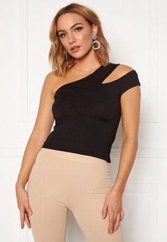 Ivyrevel Cross Shoulder Top Black Bubbleroom.eu