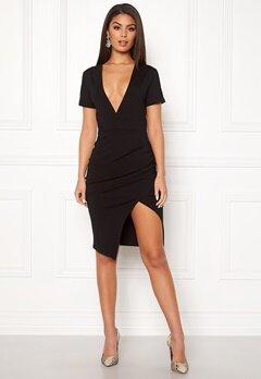 Ivyrevel Deep V-neck Slit Dress Black Bubbleroom.eu