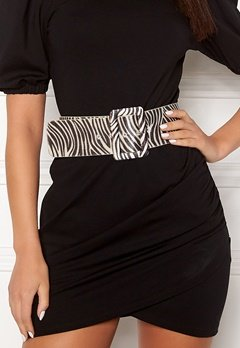 Ivyrevel Faux Pony Hair Belt Black/White Bubbleroom.eu