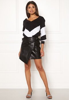 Ivyrevel High Waist Overlap Skirt Black Bubbleroom.eu