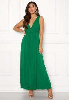 Ivyrevel Maxi Dress With Slit Verdant Green Bubbleroom.eu