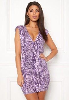 Ivyrevel Sharp Shoulder Mini Dress Light Pink Bubbleroom.eu