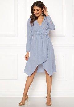 Ivyrevel Shirt Dress Blue Mix Bubbleroom.eu