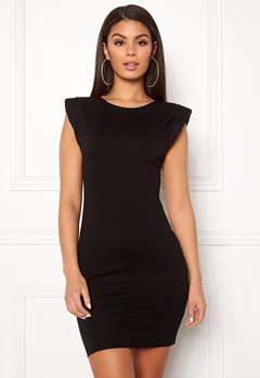 Ivyrevel Shoulder Pad Mini Dress Black Bubbleroom.eu