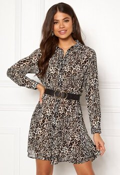 Jacqueline de Yong Abigail L/S Shirt Dress Black Bubbleroom.eu