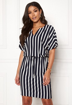 Jacqueline de Yong Alina S/S Dress Navy Blazer/Stripes Bubbleroom.eu