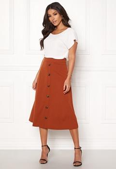 Jacqueline de Yong Bellis Button Skirt Arabian Spice Bubbleroom.eu