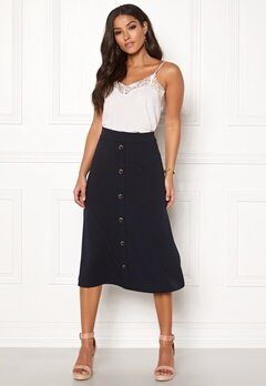 Jacqueline de Yong Bellis Button Skirt Sky Captain Bubbleroom.eu