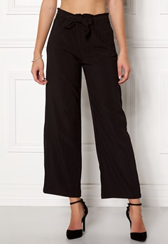Jacqueline de Yong Chung Wide Pant Black/Stripes Bubbleroom.eu