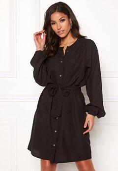 Jacqueline de Yong Evelyn L/S Dress Black Bubbleroom.eu