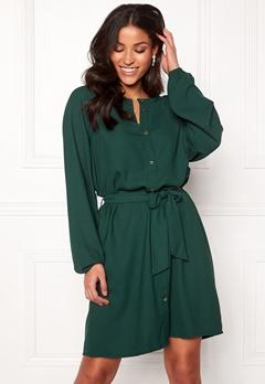 Jacqueline de Yong Evelyn L/S Dress Ponderosa Pine Bubbleroom.eu