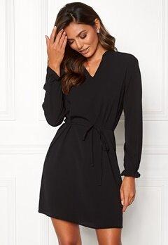 Jacqueline de Yong Gorgeous L/S Dress Black Bubbleroom.eu