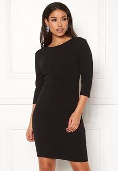 Jacqueline de Yong Lauren 3/4 Dress Black Bubbleroom.eu