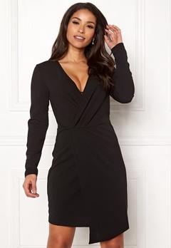 Jacqueline de Yong Lauren L/S Dress Black Bubbleroom.eu