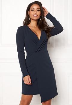 Jacqueline de Yong Lauren L/S Dress Night Sky Bubbleroom.eu