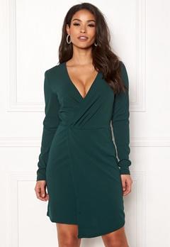 Jacqueline de Yong Lauren L/S Dress Ponderosa Pine Bubbleroom.eu