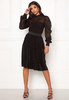 Jacqueline de Yong Nethe Skirt Black Bubbleroom.eu