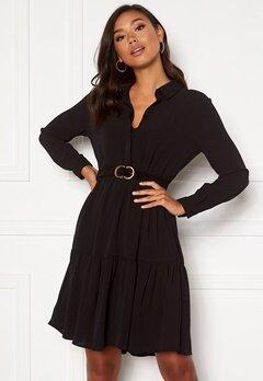 Jacqueline de Yong Piper L/S Shirt Dress Black Bubbleroom.eu