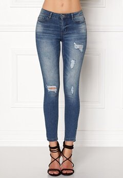 Jacqueline de Yong Skinny Low Magic Jeans Light Blue Denim Bubbleroom.eu