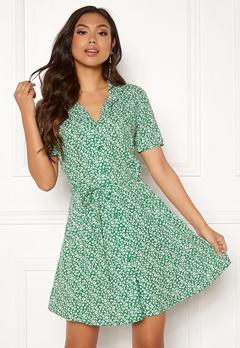 Jacqueline de Yong Star S/S Shirt Dress Medium Green Bubbleroom.eu