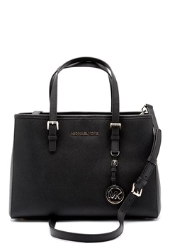 Michael Michael Kors Jet Set Leather Bag Black Bubbleroom.eu