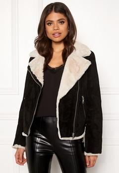 JOFAMA Bella Leather Jacket 00 Black Bubbleroom.eu