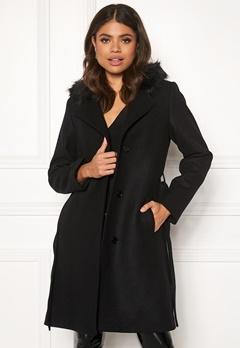 JOFAMA Sophia Coat 00 Black Bubbleroom.eu