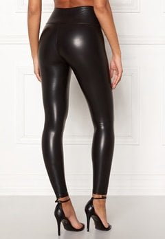 John Zack Faux Leather PU Legging Black Bubbleroom.eu