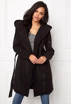 OBJECT Jolie Coat Black Bubbleroom.eu