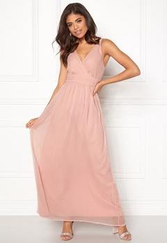 VERO MODA Josephine SL Maxi Dress Misty Rose Bubbleroom.eu