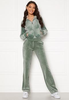 Juicy Couture Del Ray Classic Velour Pant Chinios Green Bubbleroom.eu