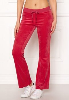 Juicy Couture Luxe Velour Del Rey Pant Cherry Top Bubbleroom.eu