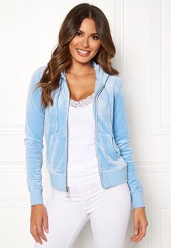 Juicy Couture Luxe Velour Robertson Jkt Varsity Blue Bubbleroom.eu