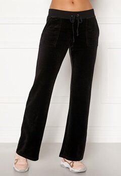 Juicy Couture Velour On Going Pant Pitch Black Bubbleroom.eu