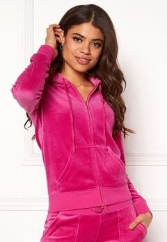 Juicy Couture Velour Robertson Jacket Raspberry Pink Bubbleroom.eu