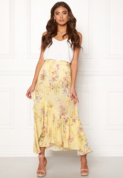 Ravn Kai Skirt Yellow Flower Bubbleroom.eu