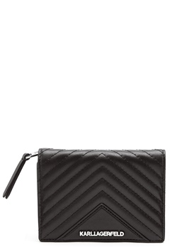 Karl Lagerfeld Classic Quilted Wallet Black Bubbleroom.eu